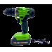 Autofiletanta Procraft Industrial PA18Li Extra, 18V, 2 Ah, 350-1200 rotatii + PRELUNGITOR FLEXIBIL