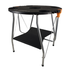 Masa pentru gratar O-Grill, 650 x 640 mm, pliabila, Negru image