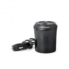 Adaptor bricheta auto 2 porturi USB, Esperanza