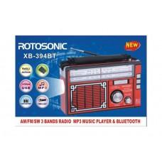Radio portabil cu Bluethoot ,MP3 Player si lanterna XB-394 BT, AM/FM/SW