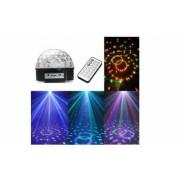 Glob Disco cu MP3 Player, boxe incorporate, cititor de stick USB