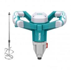 Mixer electric pentru mortar Total, 1400 W, 750 rpm, LED, paleta M14