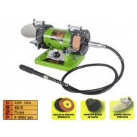 Polizor banc Procraft PBG 400 cu Gravor, 400 W, 10000 rpm