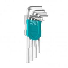 Set 9 chei imbus hexagonale Cr-V Total, 1.5-10 mm, brat lung, uz industrial