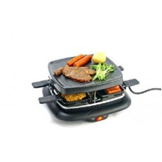 Gratar /grill electric cu placa si 4 mini tigai si spatule, 700W ,Bimar