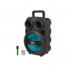 Poza Boxa portabila Bluetooth S8 Karaoke, telecomanda + microfon, 43 cm inaltime