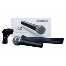 Microfon vocal SHURE SM58, buton on/off