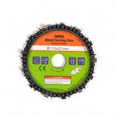 Disc lant drujba, pentru polizor unghiular , 115 mm, otel