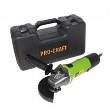 Flex Polizor Unghiular Procraft PW 1350EK, 1.35 kW, 11000 RPM, 125 mm + Valiza+Carbuni