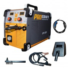 Aparat de sudura ,Invertor MMA + MIG Procraft SPI 320, Industrial, Electrozi si Gaz , 320 Amperi, + Cabluri si Pistol