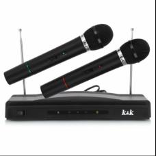 Set 2 Microfoane Wireless AT-306