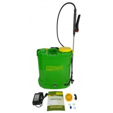 Pompa de stropit electrica vermorel , 12V, Volum 12 litri, 3 tipuri de pulverizare ,PROCRAFT AS12L