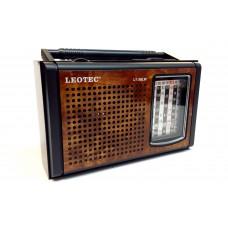 Radio Leotec LT-30lw cu 8 benzi radio,alimentare 220v si baterii