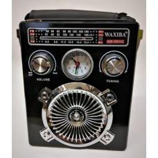 Radio cu Mp3 , AM,FM,SW ceas, lanterna XB501