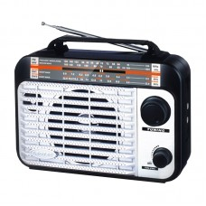 Radio Leotec Q2 cu 4 benzi radio AM/FM/SW1/SW2 , alimentare 220v si baterii