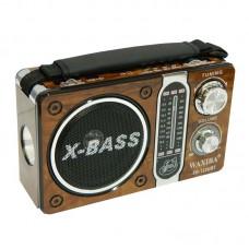 Radio portabil cu lanterna , mp3 X-BASS XB-122URT , acumulator cu incarcare la 220V