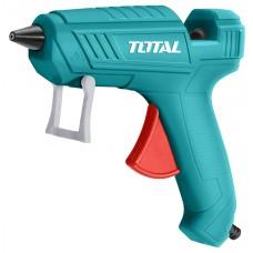 Pistol de lipit cu silicon TOTAL, 100W