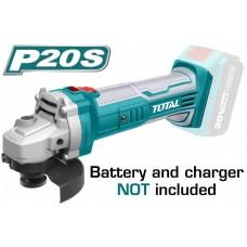 Polizor unghiular - Li-Ion - 20V - 115mm TOTAL