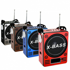 Boxa portabila X-BASS cu radio, acumulator, lanterna si USB image